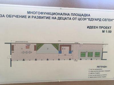 Проект- площадка - ЦСОП Едуард Сеген - София, Надежда