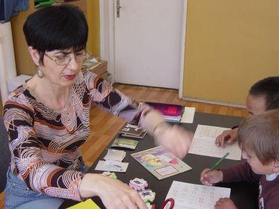 При логопеда и психолога - ЦСОП Едуард Сеген - София, Надежда